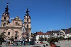 Chiesa di Ludwigsburg immagine stock libera da diritti