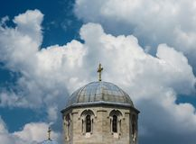 Chiesa di Luke dell'evangelista e dell'apostolo Fotografia Stock
