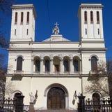 Chiesa di Lutheran del san Peter e Saint Paul Fotografie Stock