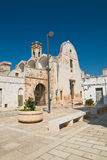 Chiesa di Maddalena Di Bari di Sammichele La Puglia L'Italia Immagini Stock Libere da Diritti