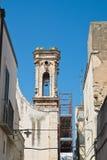 Chiesa di Maddalena Di Bari di Sammichele La Puglia L'Italia Fotografia Stock Libera da Diritti