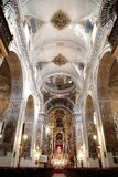 Chiesa di Madeleine del san nel verticale di Siviglia Immagini Stock