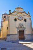 Chiesa di madre di Cancellara La Basilicata L'Italia Fotografia Stock