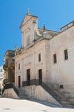 Chiesa di madre di Cisternino La Puglia L'Italia Fotografie Stock