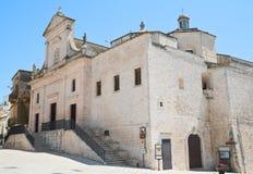 Chiesa di madre di Cisternino La Puglia L'Italia Immagine Stock Libera da Diritti