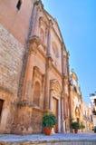 Chiesa di madre di Fasano La Puglia L'Italia Fotografia Stock Libera da Diritti