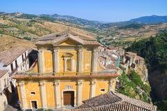 Chiesa di madre di Oriolo La Calabria L'Italia Immagine Stock Libera da Diritti