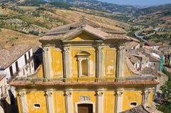 Chiesa di madre di Oriolo La Calabria L'Italia Immagini Stock