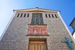 Chiesa di madre di Satriano di Lucania L'Italia Fotografie Stock