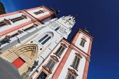 Chiesa di Mariazell Fotografie Stock Libere da Diritti