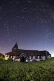 Chiesa di Marton alla notte Immagine Stock Libera da Diritti