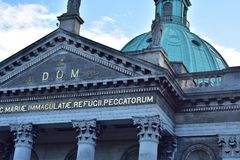 Chiesa di Mary Immaculate a Dublino Fotografia Stock