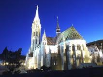 Chiesa di Matthias fotografia stock libera da diritti