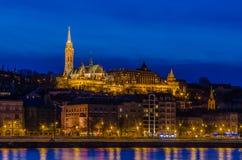 Chiesa di Matthias, Budapest Immagini Stock Libere da Diritti
