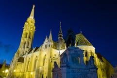 Chiesa di Matthias, Budapest, Ungheria Immagini Stock Libere da Diritti