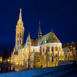 Chiesa di Matthias, Budapest, Ungheria Fotografie Stock Libere da Diritti