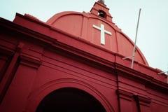 Chiesa di Melacca Fotografie Stock Libere da Diritti
