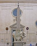 Chiesa di Minerva di sopra della Santa Maria fotografia stock libera da diritti
