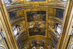 Chiesa di Miracoli di dei di Santa Maria, Roma, Italia Immagini Stock