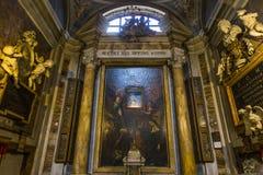 Chiesa di Miracoli di dei di Santa Maria, Roma, Italia Immagini Stock Libere da Diritti