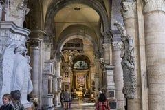 Chiesa di Miracoli di dei di Santa Maria, Roma, Italia Fotografie Stock Libere da Diritti