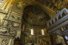 Chiesa di Miracoli di dei di Santa Maria, Roma, Italia Fotografia Stock