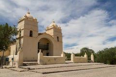 Chiesa di Molinos sull'itinerario 40 Fotografie Stock Libere da Diritti