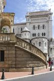 Chiesa di Monte Carlo San Nicola fotografia stock libera da diritti