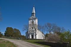 Chiesa di Näsinge (ovest) Fotografie Stock