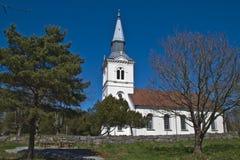 Chiesa di Näsinge (sud) Fotografia Stock