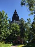 Chiesa di Naantali Finlandia Immagini Stock
