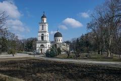 Chiesa di natività - Chisinau, Moldavia Immagine Stock Libera da Diritti