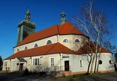 chiesa di Neo-barocco in Bydgoszcz, Polonia fotografie stock