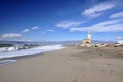 Chiesa di Nijar (Almeria, Spagna) Fotografia Stock Libera da Diritti