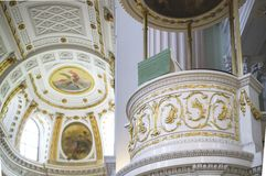 Chiesa di Nikolai in Germania Lipsia Immagini Stock