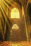 Chiesa di Notre-Dame in Dinant Immagini Stock Libere da Diritti