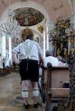 Chiesa di Oberammergau Immagini Stock