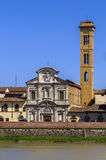 Chiesa di Ognissanti, Florence, Italy Royalty Free Stock Photo