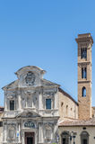 The Chiesa di Ognissanti, a Franciscan church in Florence, Italy Royalty Free Stock Image