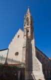 Chiesa di ordine della st Clare (1302) a Bratislava Fotografie Stock Libere da Diritti