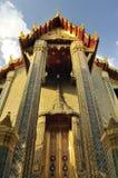 Chiesa di oro tailandese Fotografia Stock