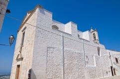 Chiesa di Ostuni. La Puglia. Immagini Stock Libere da Diritti