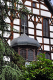 Chiesa di pace - Swidnica immagini stock
