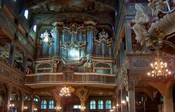 Chiesa di pace, Swidnica, Polonia fotografie stock libere da diritti