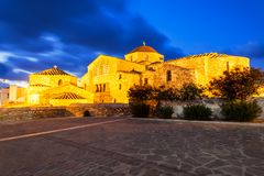 Chiesa di Panagia Ekatontapyliani, Paros Fotografia Stock Libera da Diritti