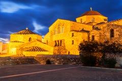 Chiesa di Panagia Ekatontapyliani, Paros Immagine Stock Libera da Diritti