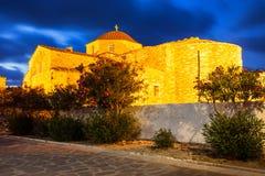 Chiesa di Panagia Ekatontapyliani, Paros Fotografie Stock