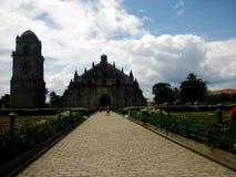 Chiesa di Paoay Fotografie Stock Libere da Diritti