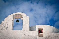 Chiesa di Paraportiani, Mykonos Immagine Stock