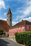 Chiesa di parrocchia di cattivo Radkersburg, Austria immagini stock libere da diritti